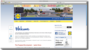 Lidl Sevenoaks - WordPress Website (Design Portfolio)