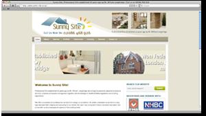 Sunny Site - Building Contractors - WordPress Website (Design Portfolio)
